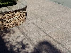 Гранитные плиты для мощения улиц