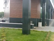 Облицовка колонн, парапетные плиты