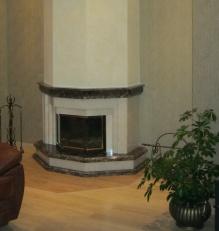 Камин в классическом стиле